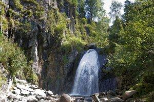 Corbu Waterfall, Altai Republic