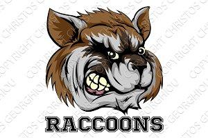 Raccoons Mascot