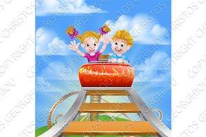 Roller Coaster Fair Theme Park