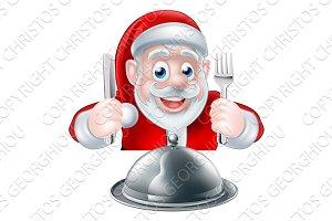 Santa Food Concept