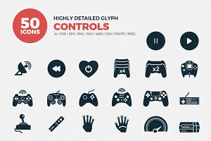 Glyph Icons Control Set