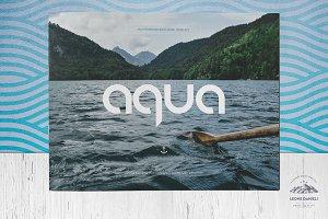 A Q U A landscape brochure