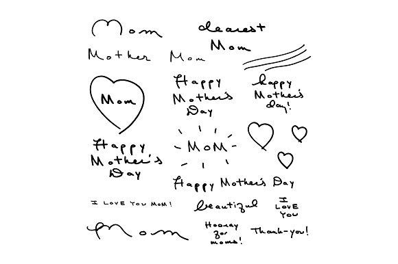 Mother's Day Handwritten Kit