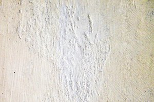 Plaster Old Wall in White