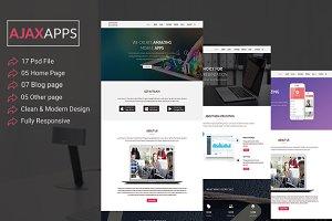 AJAXAPPS Creative HTML5   Template