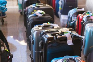Luggage consisting of suitcases