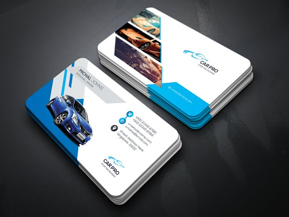 Rant A Car Business Card