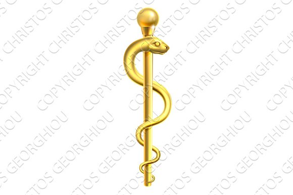 Gold Rod of Asclepius