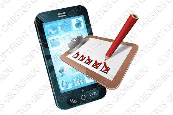 Mobile Phone Survey Concept