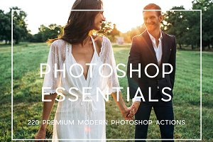 220 Professional Photoshop Actions