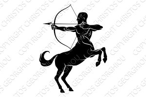 Centaur With Bow and Arrow