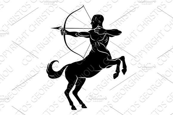 Centaur With Bow And Arrow