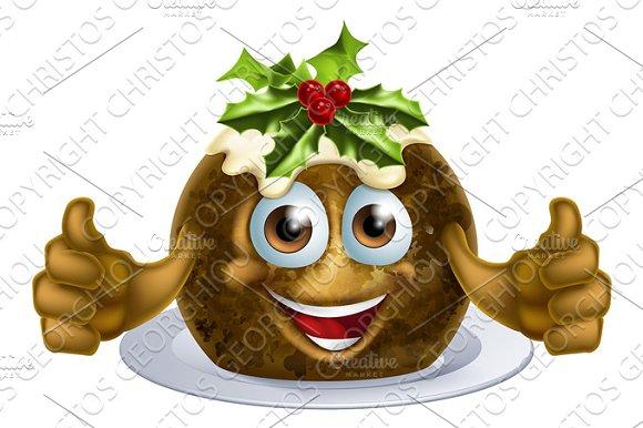 Christmas Pudding Cake Man