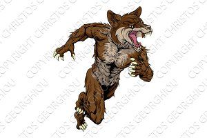Coyote Sports Mascot