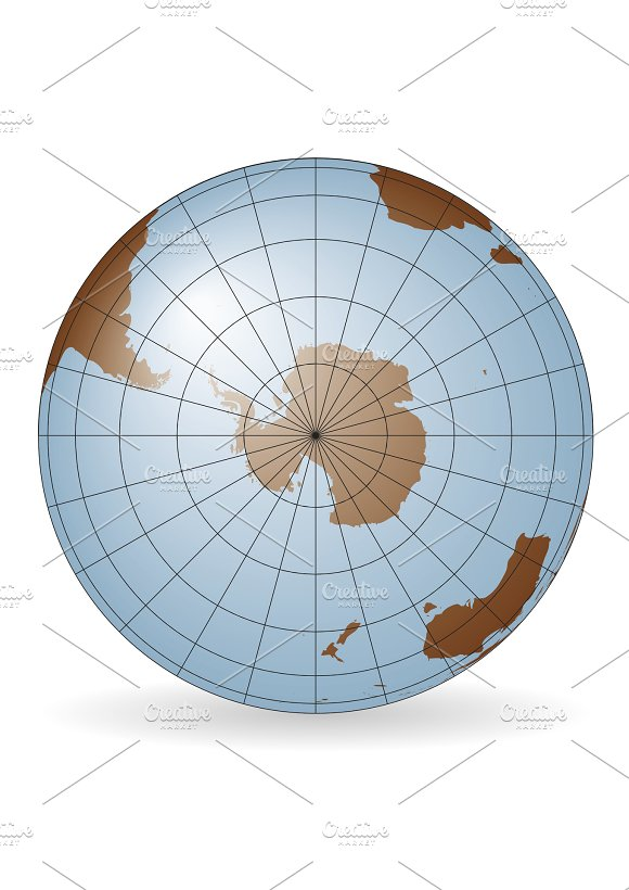South Pole Antarctica Map