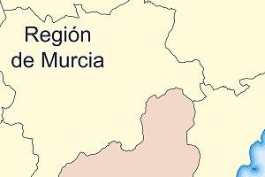 Map of Region de Murcia