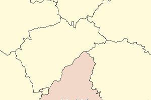 Map of Comunidad de Madrid
