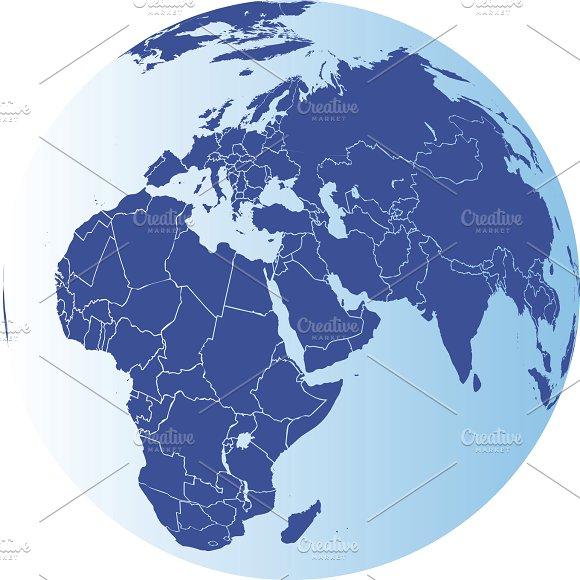 Europe Africa And Asia Globe