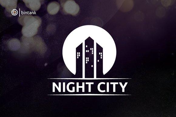 Night City Real Estate Logo