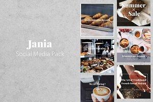 JANIA Social Media Pack