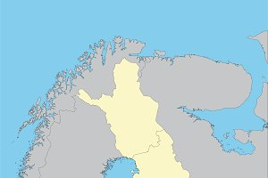 Map of Finland