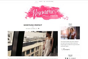 Rosemarie - Wordpress Theme Blog