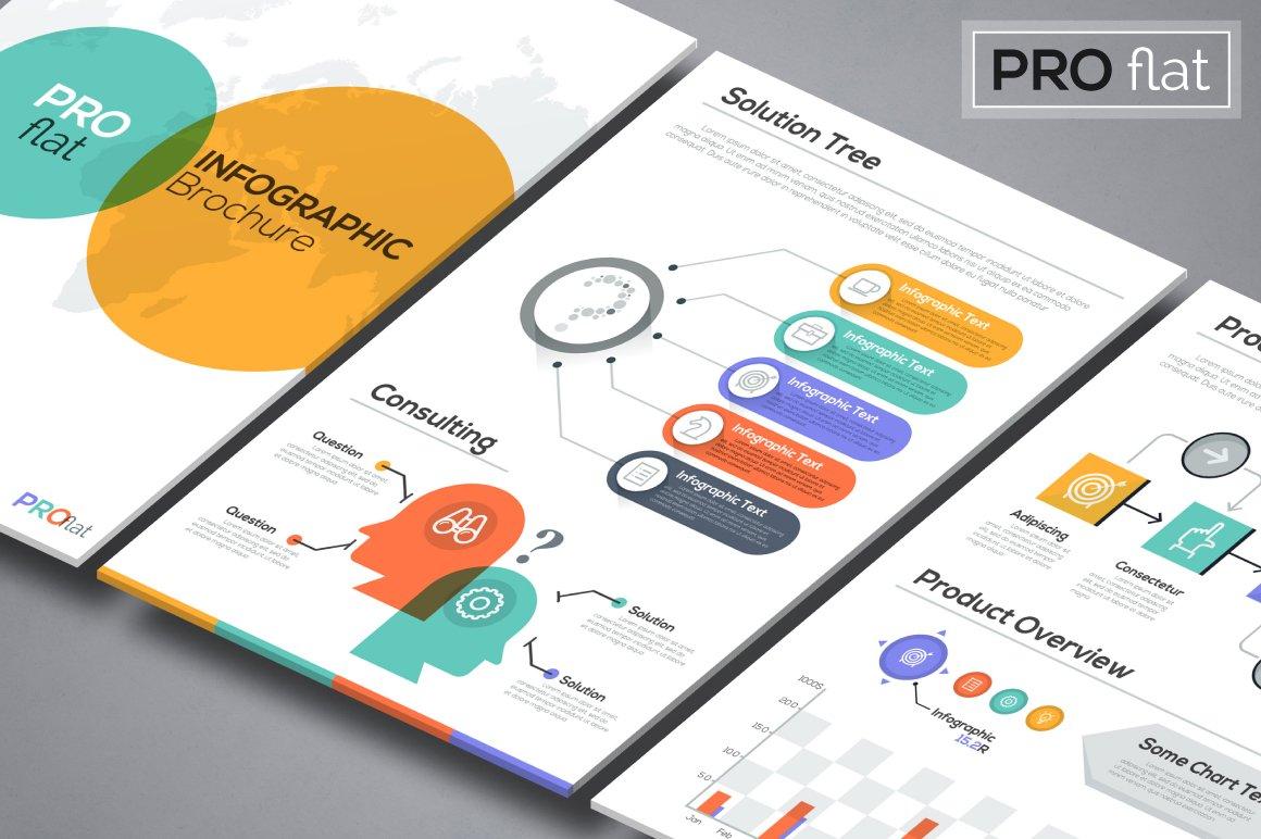 Pro flat infographic brochure 9 presentation templates creative pro flat infographic brochure 9 presentation templates creative market gumiabroncs Images