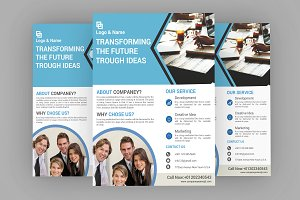 Business Flyer Template -V556