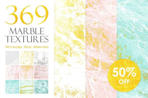 369 Marble Textures Bundle