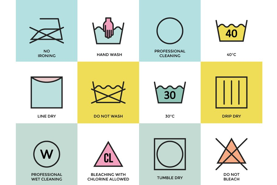 Clothing Labels and Laundry Symbols - Creative Daddy