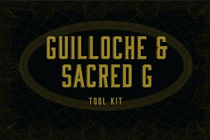 Guilloche & Sacred Geometry tool kit