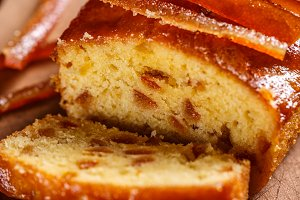 Sweet fruit bread