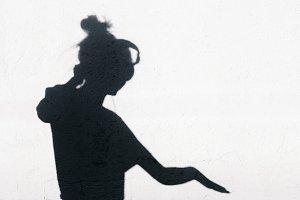 shadow of dj girl