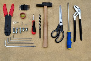 metallic elements and tools