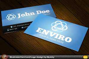 Enviro Business Card and Logo
