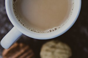 Coffee and Home made biscuits