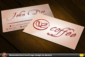 Coffee Business Card and Logo