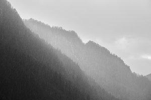 Rain in the hills