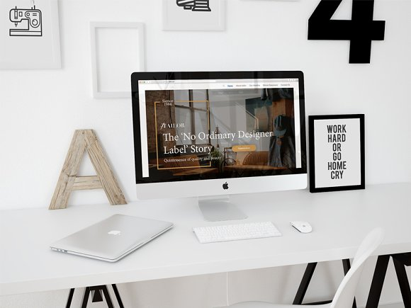 Tailor Landing Page Template