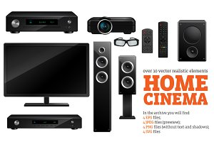 Home Cinema Set