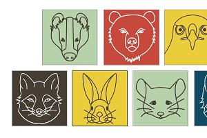 Forest Animal Icons