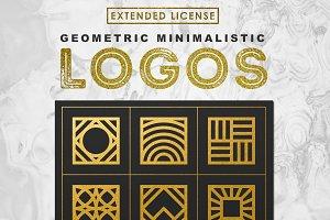 100 Minimalistic Logos (50%OFF)