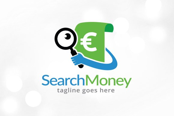 Search Money Logo Template