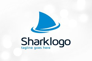 Shark Logo Template Design