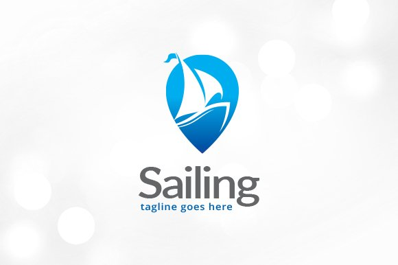 Sailing Logo Template Design