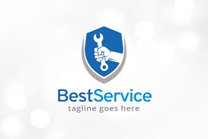 Best Service Logo Template Design
