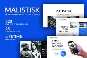 Malistisk Multipurpose Powerpoint