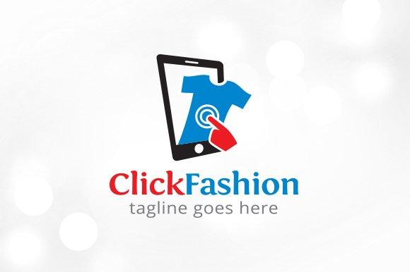 Click Fashion Logo Template Design