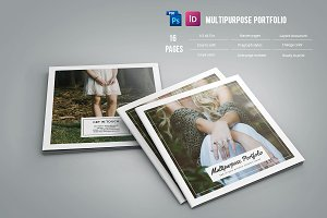Multipurpose Square Portfolio - V525