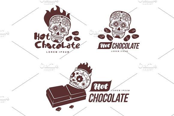 Hot Chocolate Logo Template